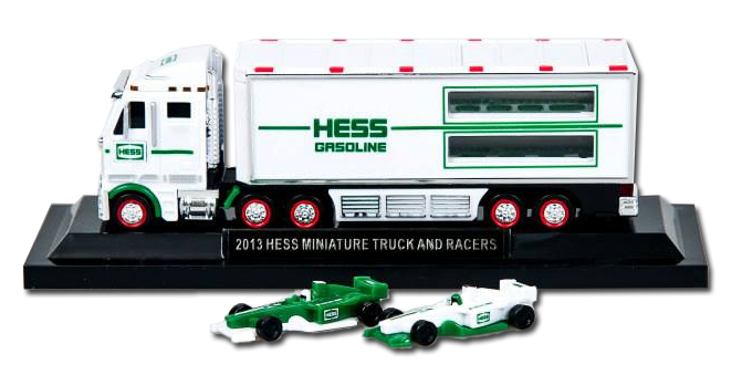 MINI 2013 Hess Truck and  Racers